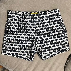 BR Milly Collection sz 4 Navy&White elephant short